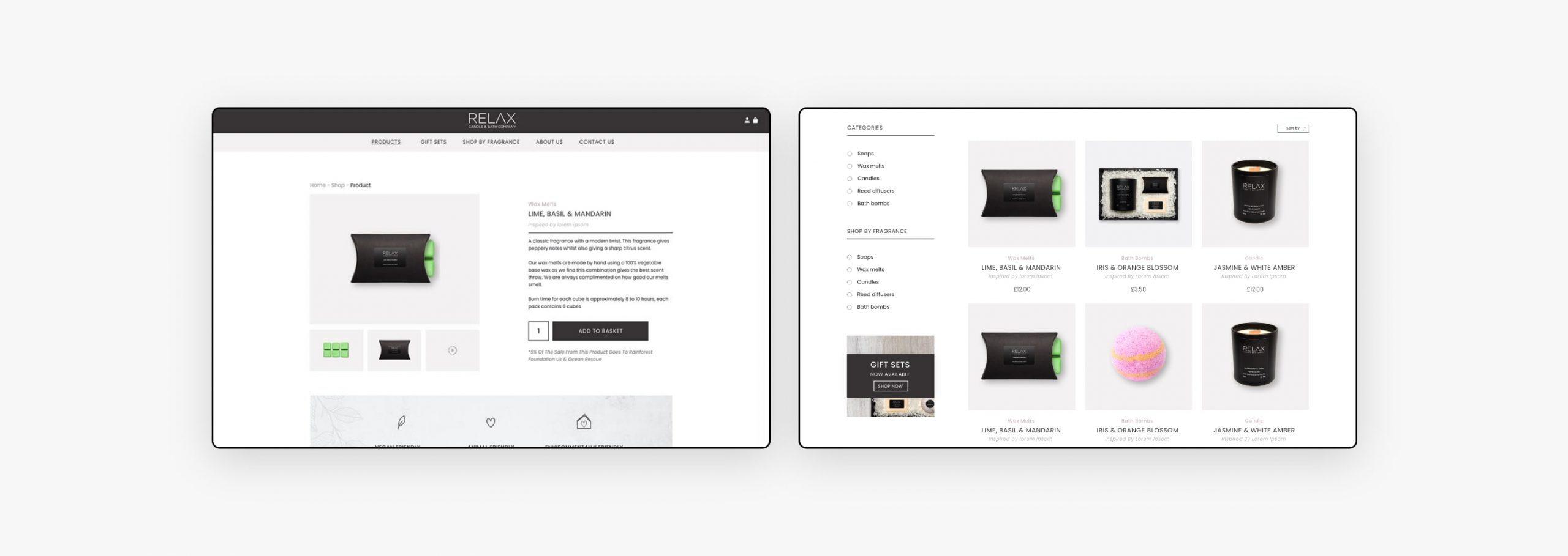 Web Design - Relax