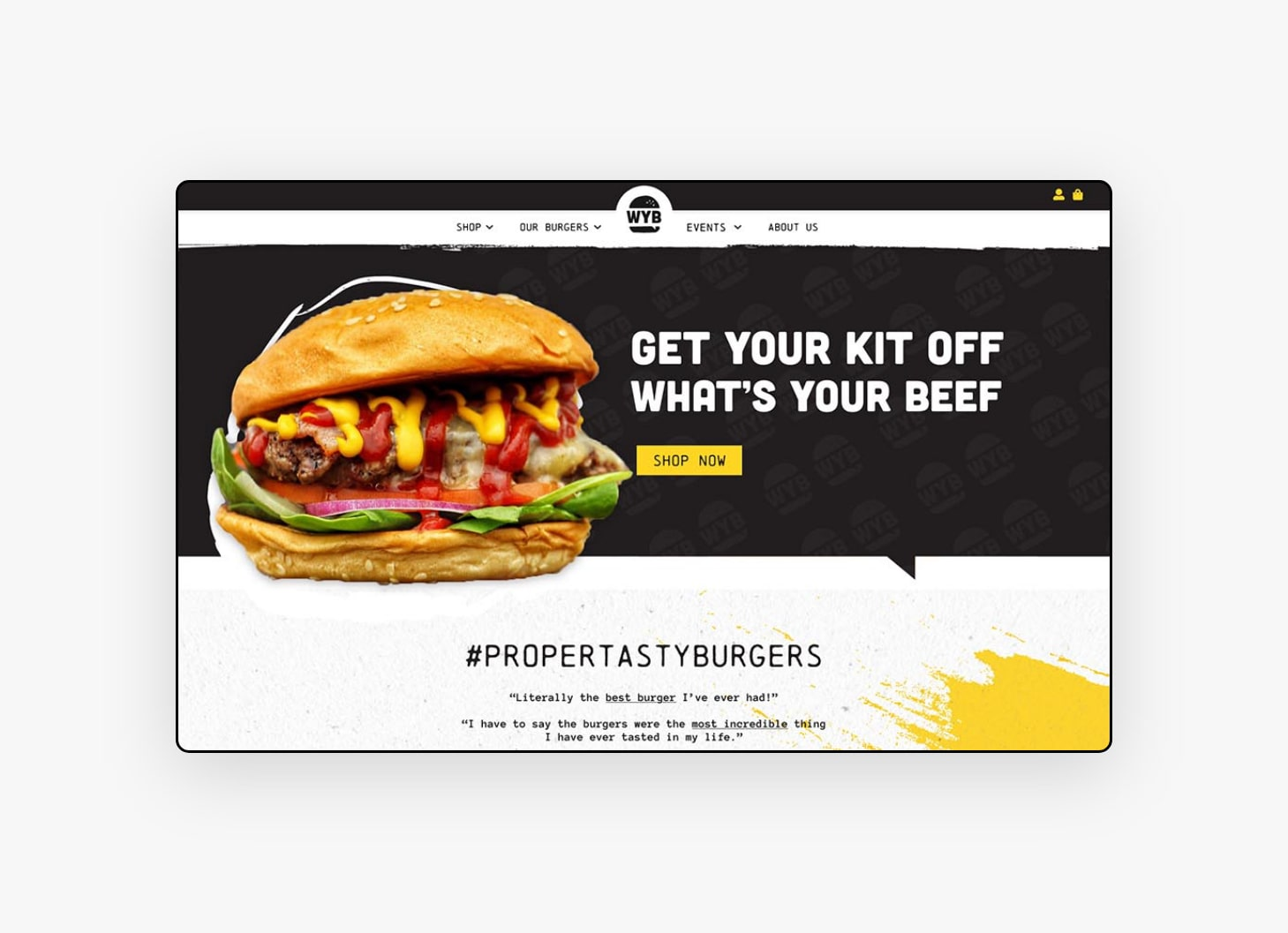 Homepage Design - WYB